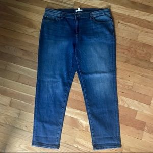 Eileen Fisher organic high rise jeans M2